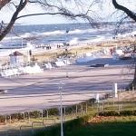 Blick aus Essecke: Stürmisches Wetter